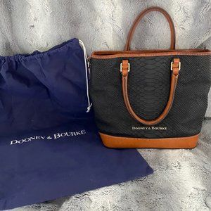 Dooney & Bourke Leather Tote Bag